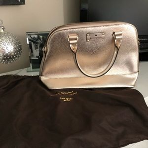 Kate Spade rose gold purse